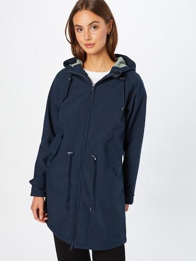 Derbe Λειτουργικό παλτό 'Island Friese' σε ναυτικό μπλε, Άποψη μοντέλου