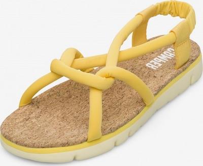 CAMPER Sandaal 'Oruga' in de kleur Geel, Productweergave