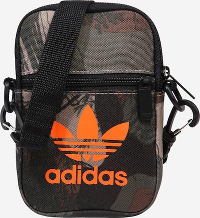 ADIDAS ORIGINALS Taška cez rameno 'Festiv' - tmelová / hnedá / kaki / oranžová / čierna, Produkt