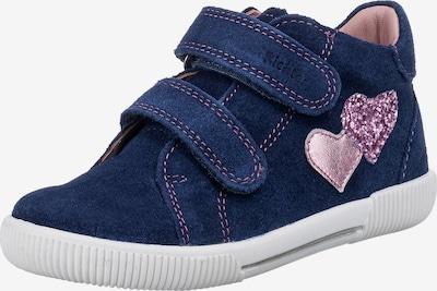 RICHTER Schuh in dunkelblau / rosa, Produktansicht