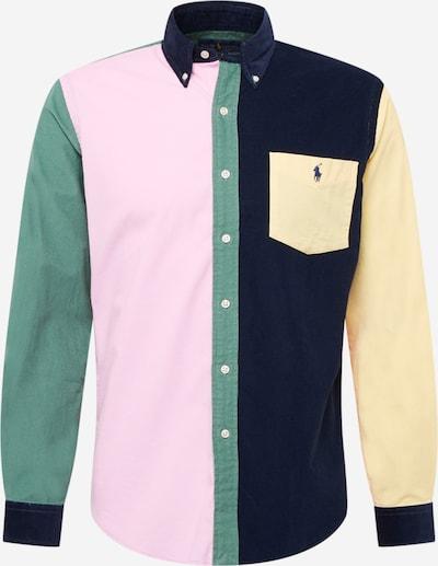 Polo Ralph Lauren Hemd in navy / pastellgelb / grasgrün / rosa, Produktansicht