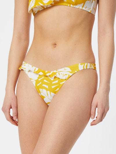 watercult Bikinihose in gelb / weiß, Modelansicht