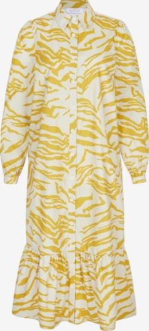Aligne Shirt Dress 'Cecilie' in Yellow