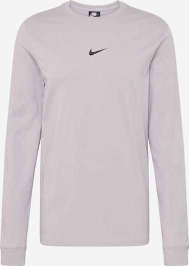 Nike Sportswear T-Shirt en gris argenté, Vue avec produit