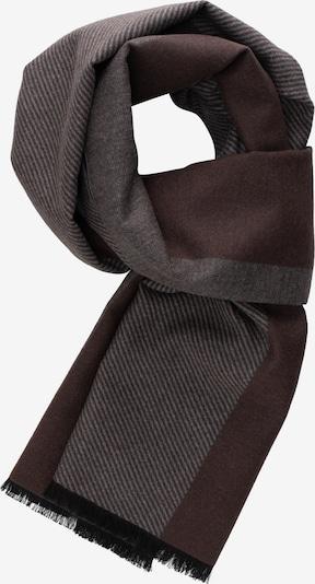 ETERNA Sjaal in de kleur Bruin / Grijs, Productweergave