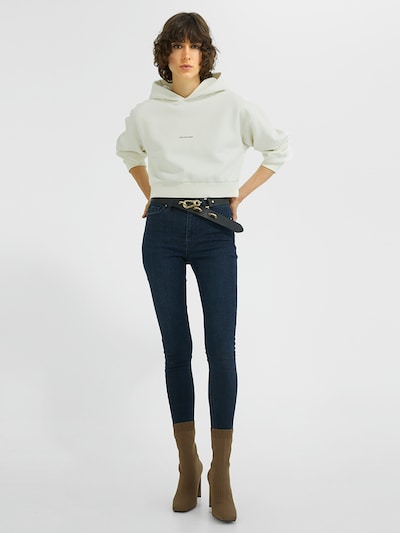 Young Poets Society Jeans ' Ania high waist 76214 ' in Blue, View model
