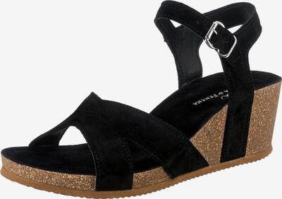 JOLANA & FENENA Sandale in schwarz, Produktansicht