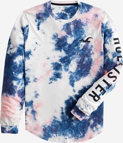 HOLLISTER T-shirt i blå / ljusrosa / vit, Produktvy
