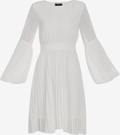 faina Abendkleid in weiß: Frontalansicht