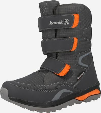 Kamik Snowboots 'CHINOOKHI' in dunkelgrau / dunkelorange, Produktansicht