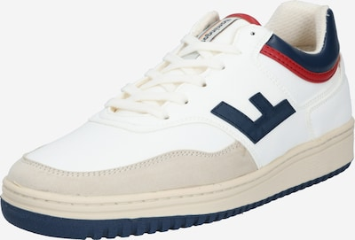 Flamingos' Life Sneakers low 'RETRO 90's' in Beige / Navy / Red / White, Item view