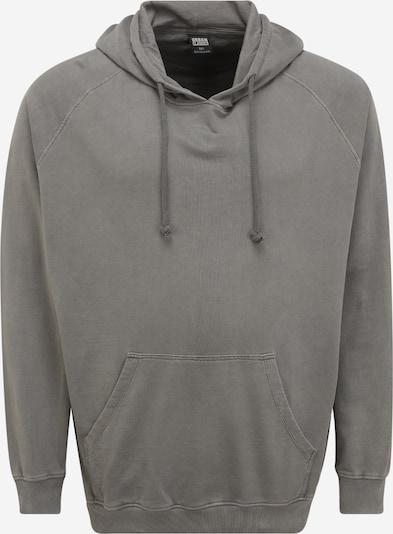Urban Classics Plus Size Sweatshirt in dunkelgrau, Produktansicht