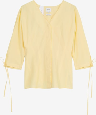 Marc O'Polo Pure Bluse in hellgelb, Produktansicht