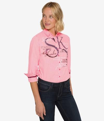 Soccx Bluse in pink, Modelansicht