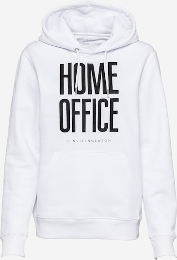 EINSTEIN & NEWTON Sweat-shirt 'Home Office' en noir / blanc, Vue avec produit