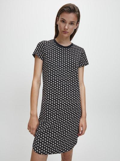 rózsa / fekete / fehér Calvin Klein Underwear Ruha, Modell nézet