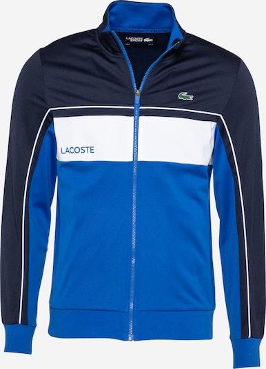 Lacoste Sport Sudadera con cremallera deportiva en azul / navy / blanco, Vista del producto