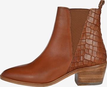 Crickit Chelsea Boot 'DIANA' in Braun