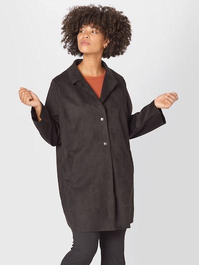ONLY Carmakoma Between-Seasons Coat 'CARJOLINE' in Black, View model