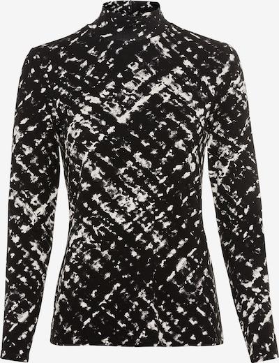 HALLHUBER Longsleeve in schwarz / weiß, Produktansicht