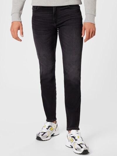 Jeans 'Washington' MUSTANG pe negru denim, Vizualizare model
