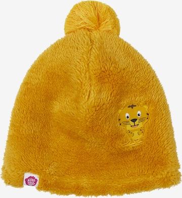Affenzahn Kindermütze 'Tiger' in Gelb