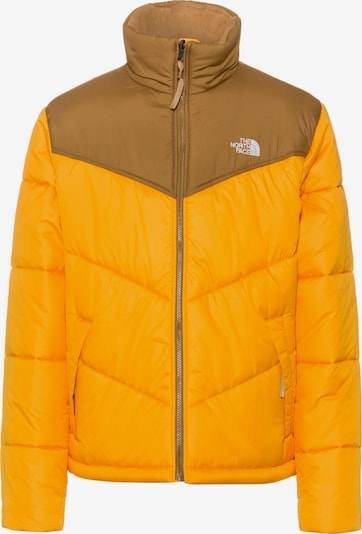 THE NORTH FACE Steppjacke 'SAIKURU' in braun / orange, Produktansicht