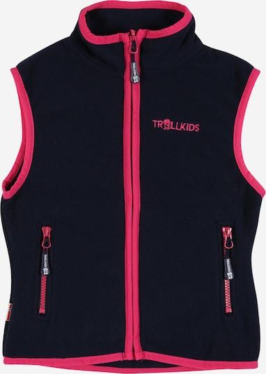 TROLLKIDS Sportbodywarmer 'Arendal' in de kleur Navy / Pink, Productweergave