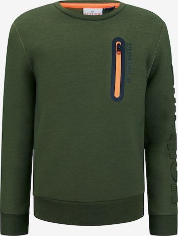 Retour Jeans Sweatshirt 'Sef' in Grün