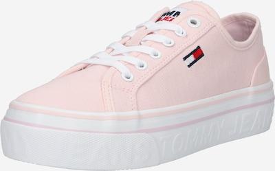 Sneaker low Tommy Jeans pe roz deschis / roșu / alb, Vizualizare produs