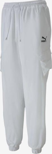 PUMA Classics Utility Damen Gewebte Hose in weiß, Produktansicht