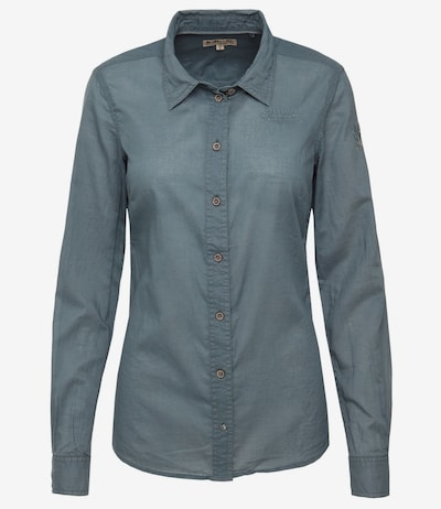 Soccx Bluse in petrol: Frontalansicht