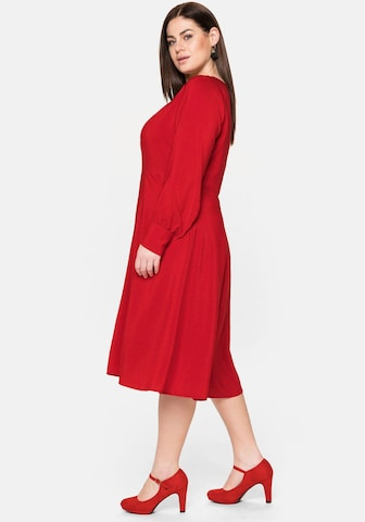 SHEEGO Cocktail Dress in Red