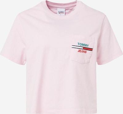 Tommy Jeans Shirt in hellpink, Produktansicht