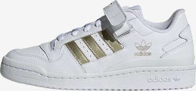 ADIDAS ORIGINALS Sneakers 'Forum' in Gold / White, Item view