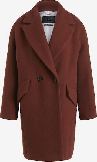SET Manteau mi-saison en marron châtaigne, Vue avec produit