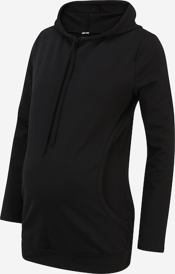 Bebefield Sweat-shirt en noir, Vue avec produit