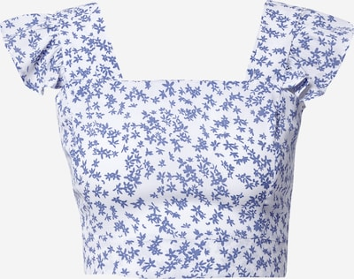 Cotton On Topp 'Fifi' sinine / valge, Tootevaade