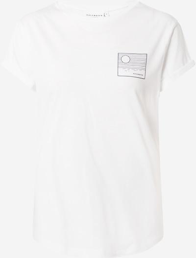 Hafendieb Shirt 'Klima' in de kleur Zwart / Wit, Productweergave