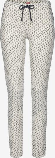 s.Oliver Pajama Pants in Black / White, Item view