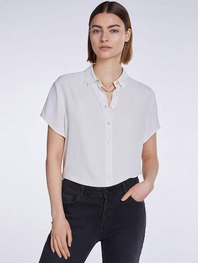 SET Bluse in weiß, Modelansicht