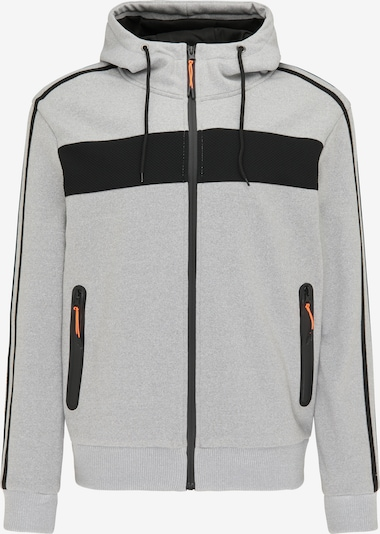 Mo SPORTS Sweat jacket in Grey / Black, Item view