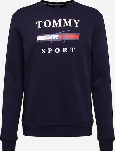 Tommy Sport Sportsweatshirt i navy / rød / hvid, Produktvisning