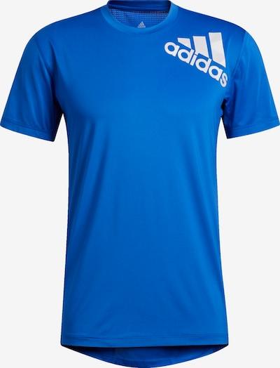 ADIDAS PERFORMANCE T-Shirt 'Alphaskin' in royalblau / weiß, Produktansicht