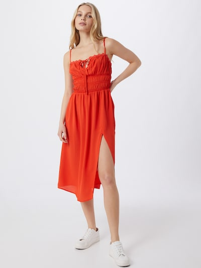 River Island Beach dress in Fire red, View model