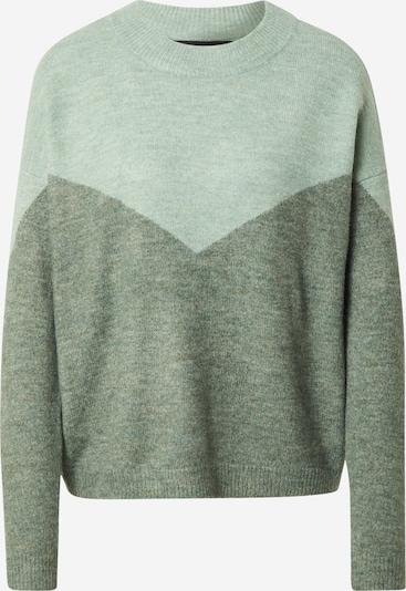 VERO MODA Pullover in hellgrün / dunkelgrün, Produktansicht
