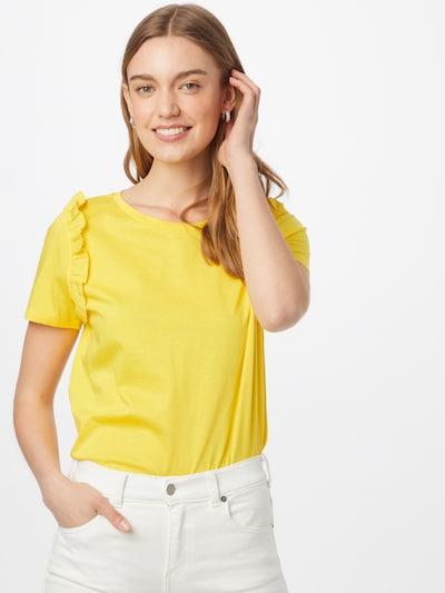 UNITED COLORS OF BENETTON Тениска в жълто: Изглед отпред