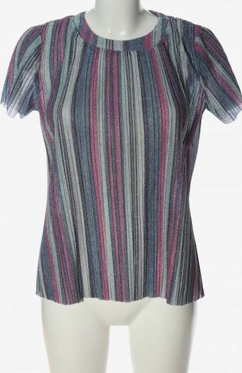 SheIn Kurzarm-Bluse in S in blau / türkis / pink, Produktansicht