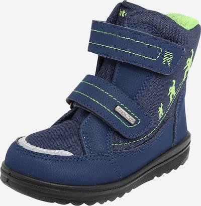RICHTER Čizme za snijeg u mornarsko plava / svijetlosiva / kivi zelena, Pregled proizvoda