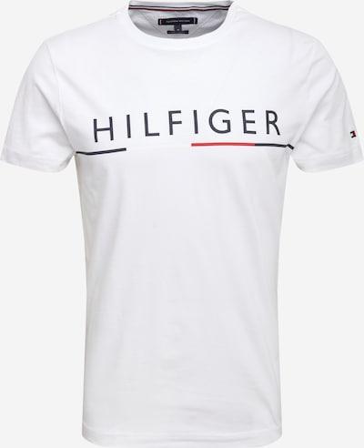TOMMY HILFIGER Tričko - červená / černá / bílá, Produkt